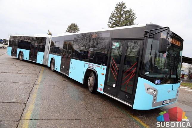 """Vozni park JP """"Subotica Trans"""" bogatiji za dva nova autobusa"""