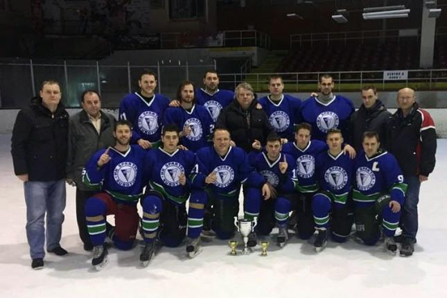 Hokejaši Spartaka u Bugarskoj proslavili titulu šampiona Balkana