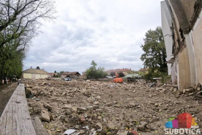 Saopštenje Međuopštinskog zavoda za zaštitu spomenika povodom rušenja kuća u Ulici Braće Radić