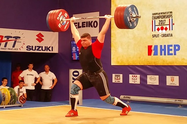Dizači tegova Spartaka nastupili na Evropskom prvenstvu za seniore