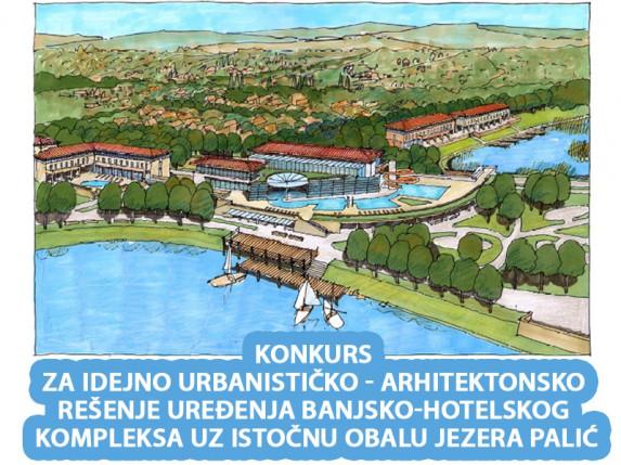 Konkurs za idejno rešenje uređenja turističkog kompleksa uz obalu jezera Palića