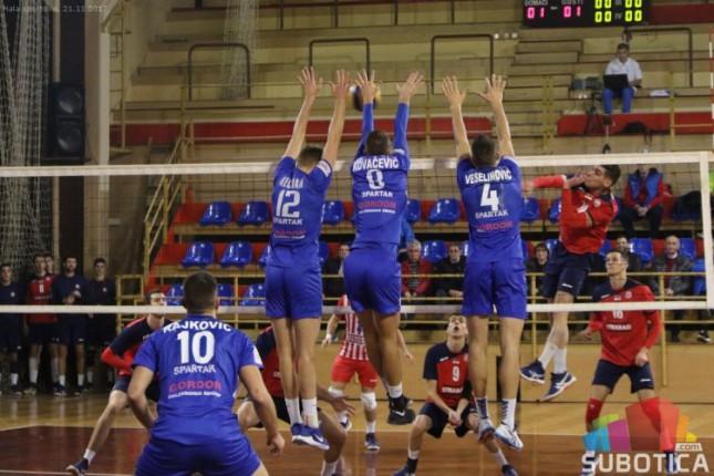 Odbojka - Kup Srbije: Spartak poražen od Crvene zvezde u prvom meču četvrtfinala