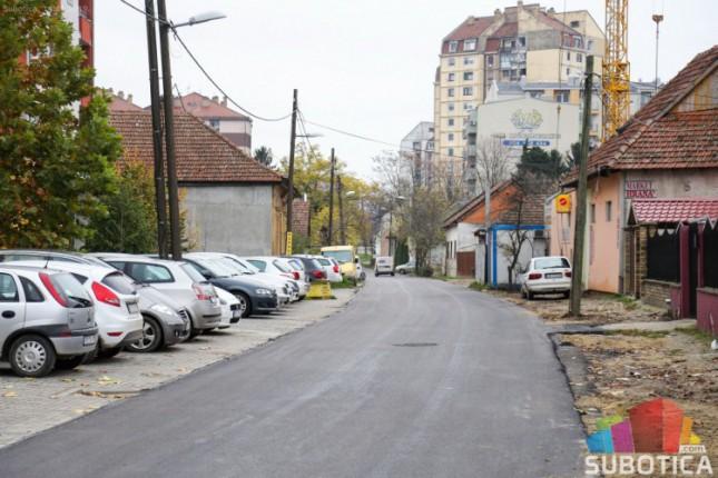 Proširen i asfaltiran deo Ulice Matije Gupca