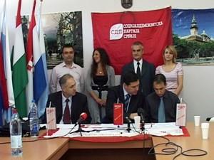 Socijaldemokratska partija zadovoljna izbornim rezultatima