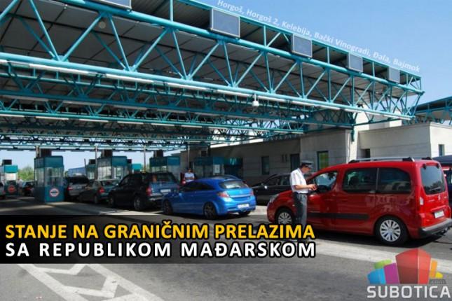 Na Horgošu višečasovna zadržavanja, koristite alternativne granične prelaze