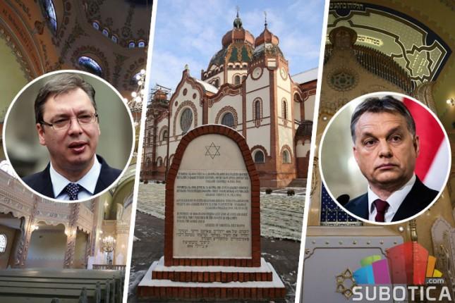 Vučić i Orban u ponedeljak otvaraju restauiranu Sinagogu, popodne očekivane gužve u saobraćaju