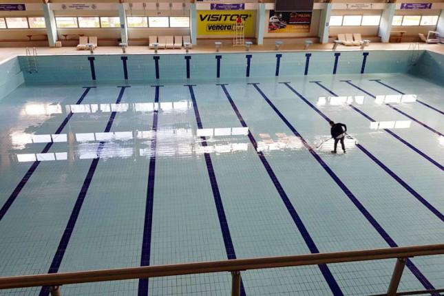 Pauza u radu bazena iskorišćena za zamenu vode i temeljno čišćenje