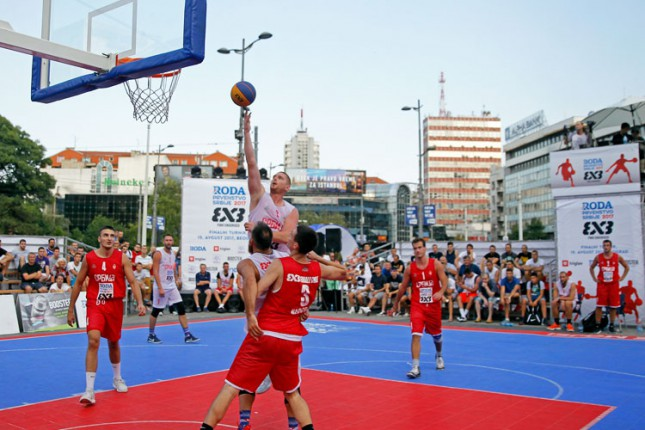 Basket 3x3 turnir u nedelju na Gradskom trgu