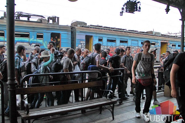 Migranti sve češće dolaze železnicom