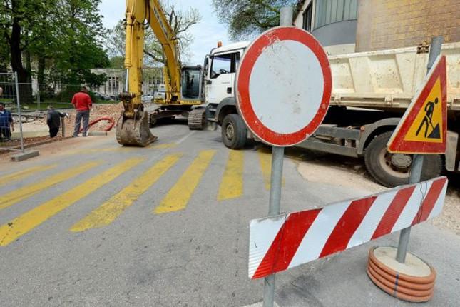 Zbog radova ulice Braće Radić, Bajnatska, Izvorska, Pazinska i Lošinjska biće delimično zatvorene
