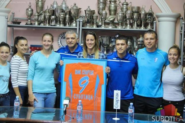 "ŽFK ""Spartak"" se oprostio od Milene Nikolić"
