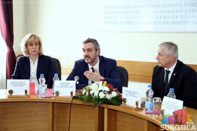 Predsednik PKS razgovarao sa privrednicima iz regiona