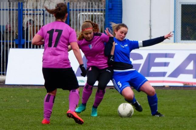 """Fudbal: """"Golubice"""" još jednom ubedljive protiv Rada (9:0)"""