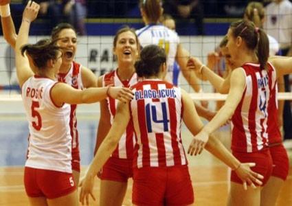 Odbojkašice Spartaka poražene u prvoj utakmici finala Plej ofa