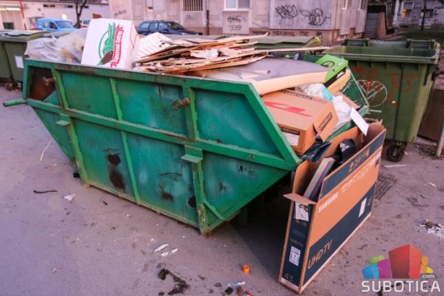 Kontejneri za kabasti otpad u Ljutovu, Starom i Novom Žedniku