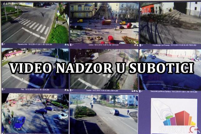 Video nadzor na glavnim saobraćajnicama u gradu
