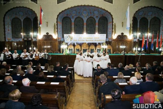 Svečana akademija Bunjevaca u petak u Velikoj većnici