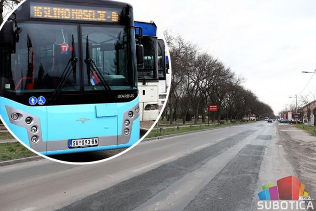 Promena saobraćanja trasa linija 6 i 26 (Somborski put) u utorak i sredu