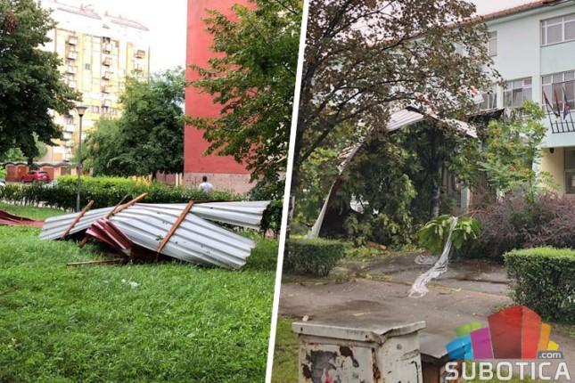 Stanari zgrade na Segedinskom putu u nevolji zbog krova