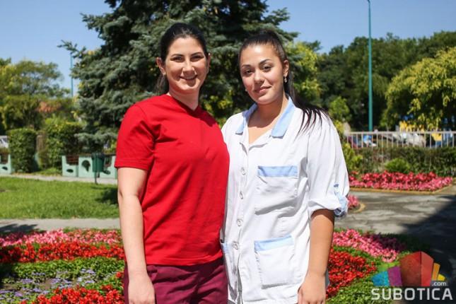 Studentkinje leto provode radeći u Gerontološkom centru