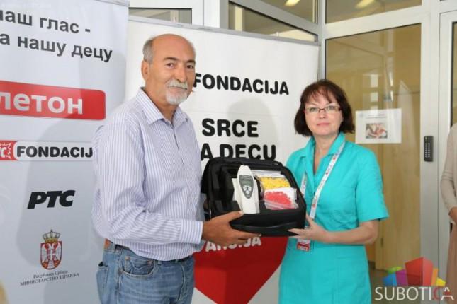 Porodilište u Subotici dobilo aparat za proveru sluha kod beba