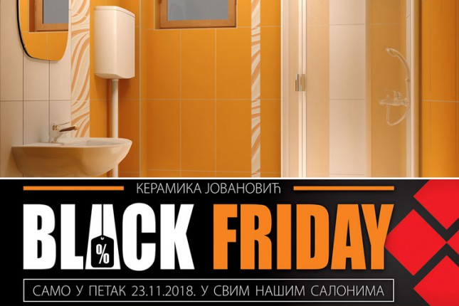 """""""Crni petak"""" 23. novembra u salonima """"Keramike Jovanović"""""""