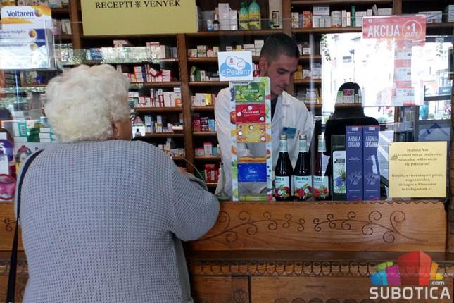 Apoteka Subotica ukida noćno dežurstvo, ostaje u pripravnosti za hitne slučajeve