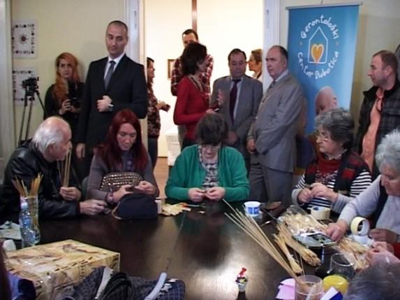 Otvorena je izložba slamarki