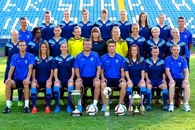 Fudbalerke Spartaka danas kreću na kvalifikacioni turnir Lige šampiona