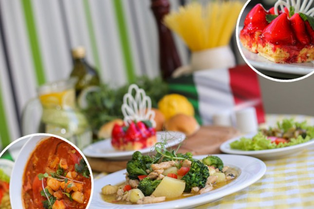 """Nedelja italijanske kuhinje u restoranima hotela """"Galleria"""""""