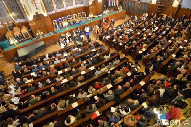 Održan koncert Subotičke filharmonije