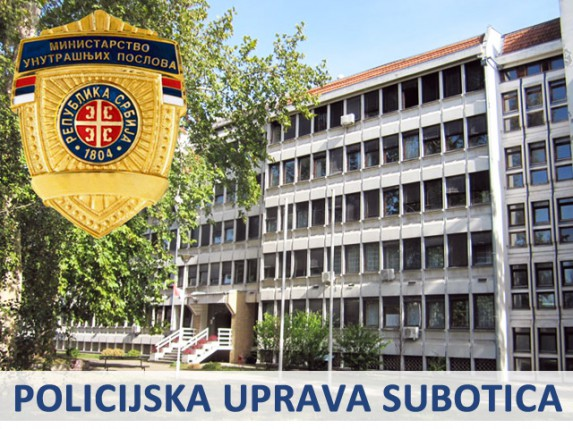 Saopštenje Policijske uprave u Subotici