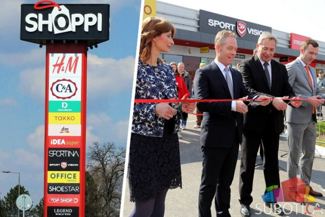 """Svečano otvoren Retail park """"Shoppi"""""""