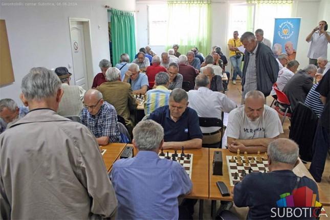 """Republičko takmičenje u šahu - """"Srpska liga trećeg doba"""""""