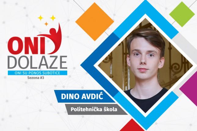 Oni dolaze: Dino Avdić, maturant Politehničke škole