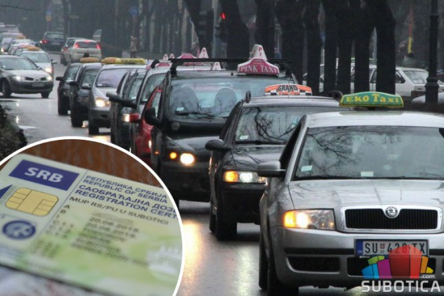 Registraciona nalepnica napravila problem taksistima