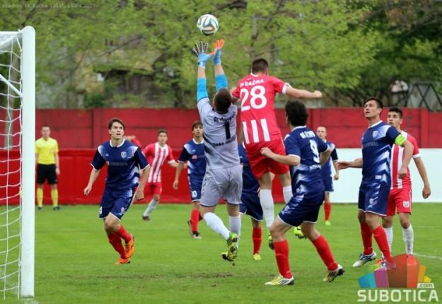 Fudbaleri Bačke savladali Radnički iz Nove Pazove (3:2)