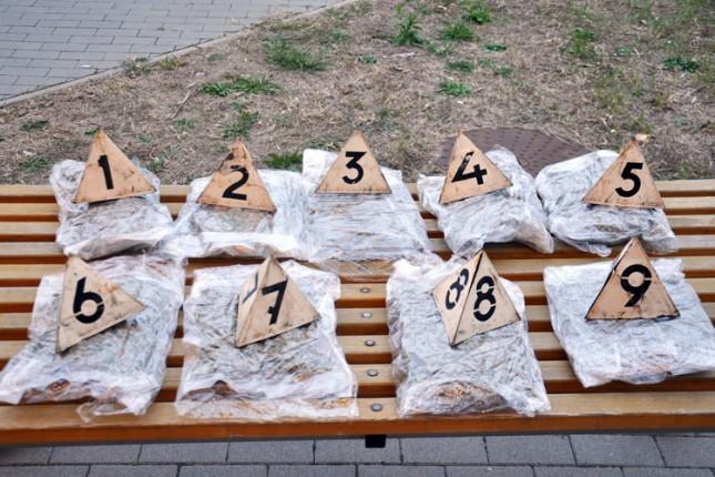 Uhapšeni u posedu 2,2 kilograma marihuane