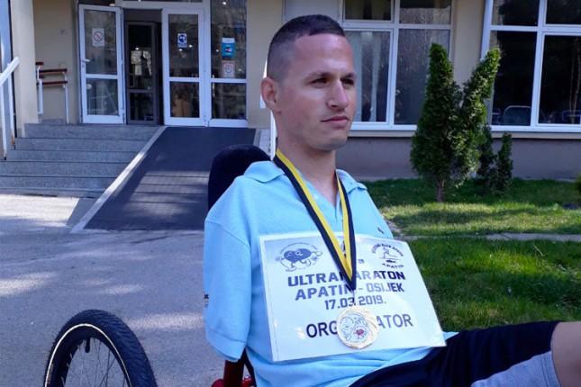 Slavko Adamov triciklom uspešno završio međunarodnu trku