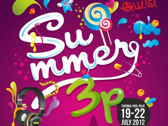Program muzičkog festivala Summer3p 2012