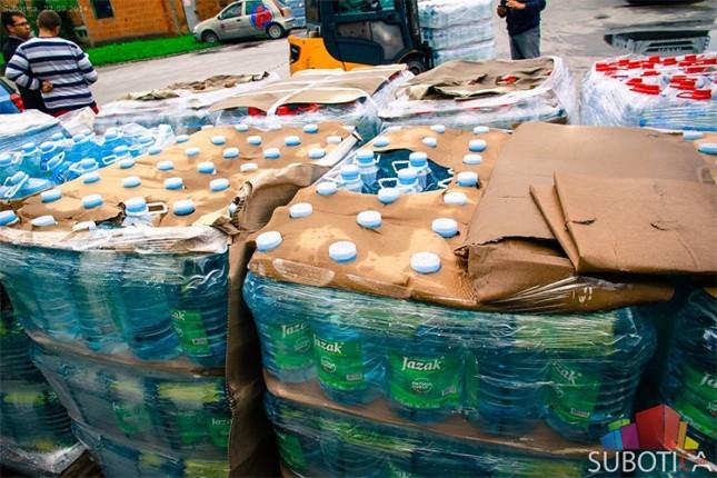 Subotica pomaže ugrožene u poplavljenim područjima