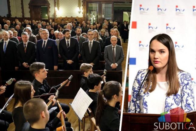 Obeležen praznik hrvatske nacionalne zajednice