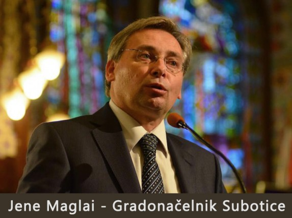Jene Maglai novi gradonačelnik Subotice