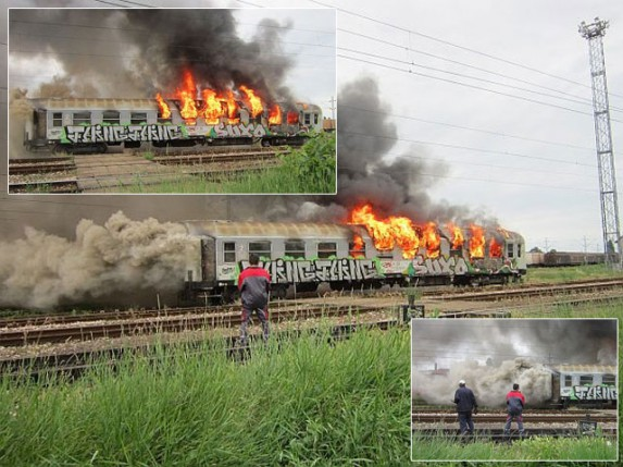 Požar na Železničkoj stanici