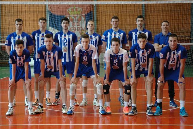 Odbojkaši Spartaka izborili plasman na finalni turnir nacionalnog prvenstva za juniore