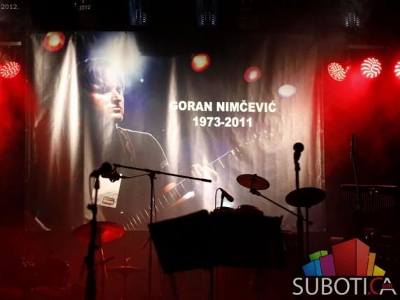Koncert u čast Goranu Nimčeviću