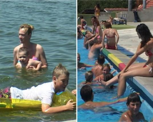 Bazeni bezbedni, a u jezero na rizik