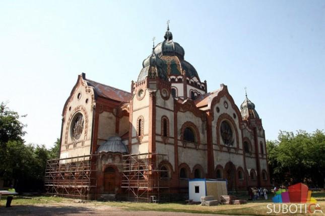 """Subotička Sinagoga među """"7 najugroženijih"""" kulturno-istorijskih spomenika"""