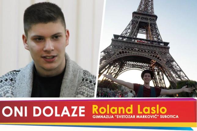 """Oni dolaze: Roland Laslo, maturant Gimnazije """"Svetozar Marković"""""""