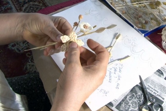 Umetnost od slame u rukama Jozefine Skenderović